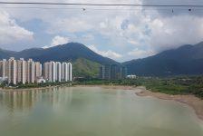 Enroute Lantau Island