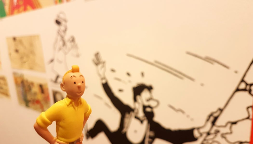 TinTin meets his creator in Hong Kong