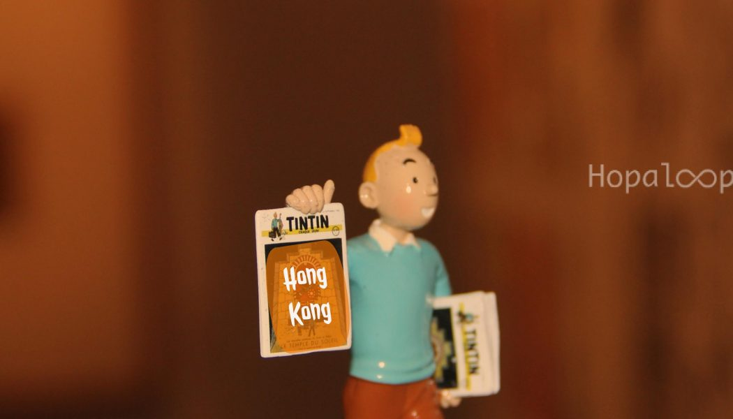 TinTin in Hong Kong – Photo Comic Series – 1