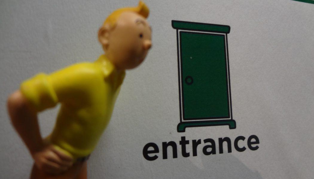 Tintin meets his creator – Part 2