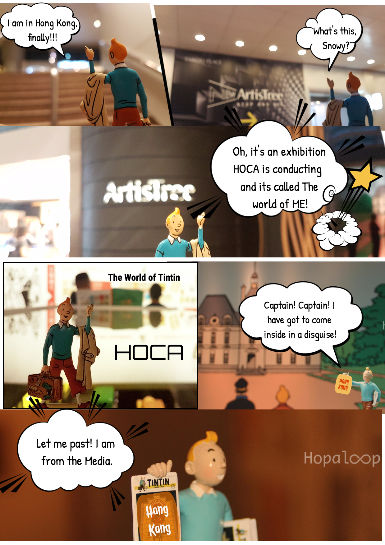 Comic Series - Tintin in Hong Kong