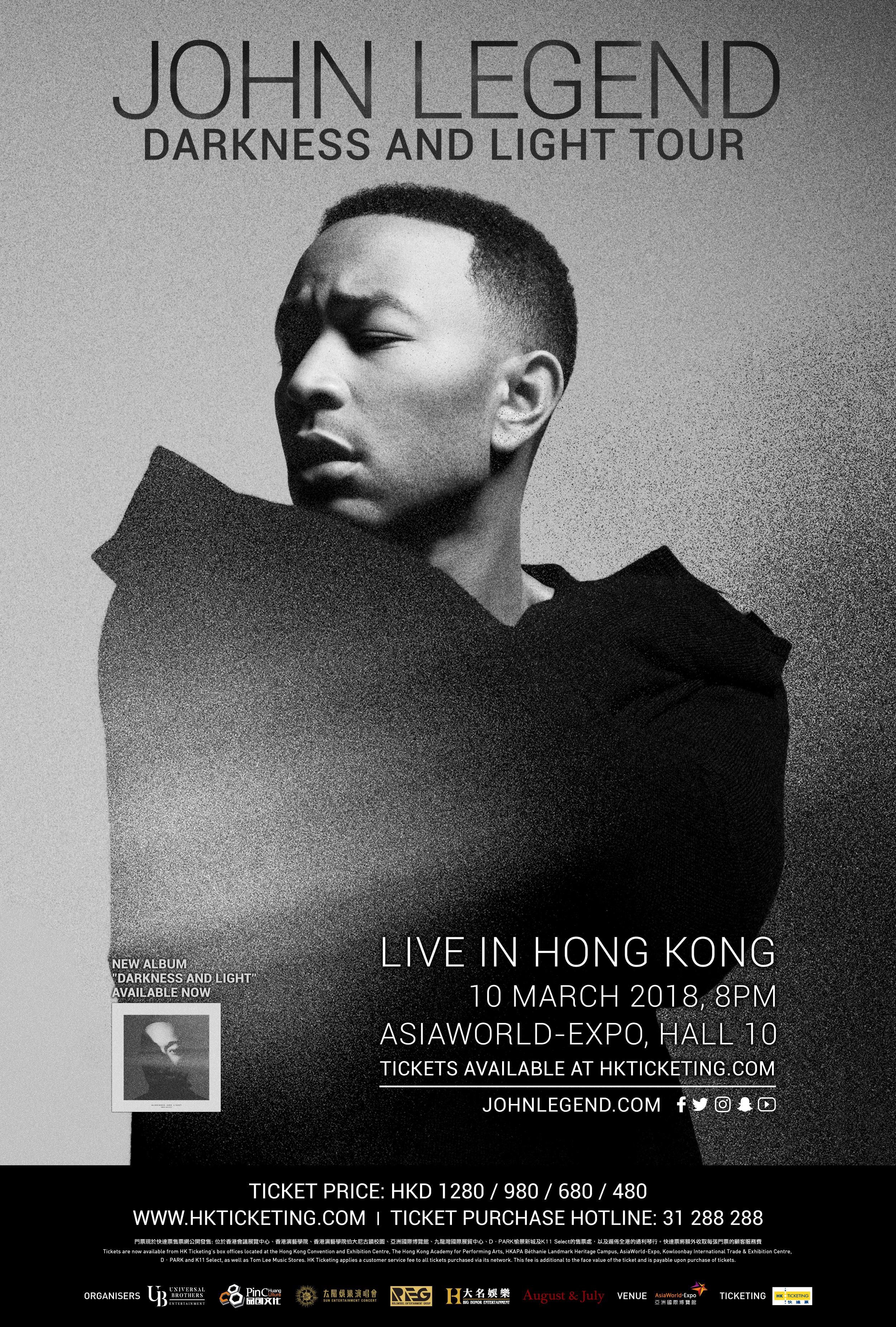 John Legend HK 2018
