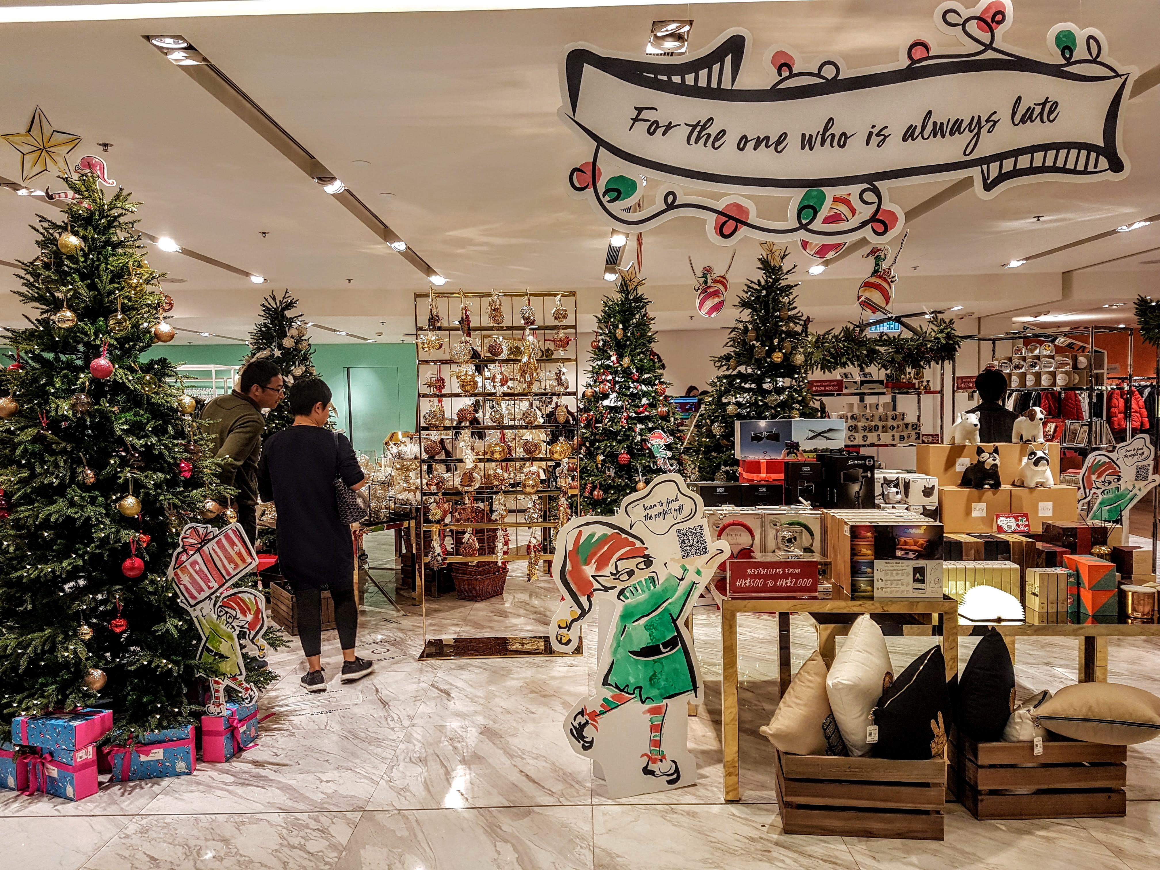 Time Square Mall Festive Decor Sale