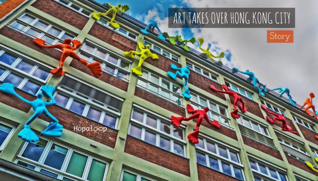 Art takes over HK