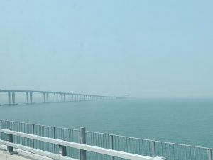 Hong Kong Macau Zhuhai bridge