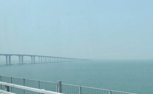 Hong Kong Macau Zhuhai bridge